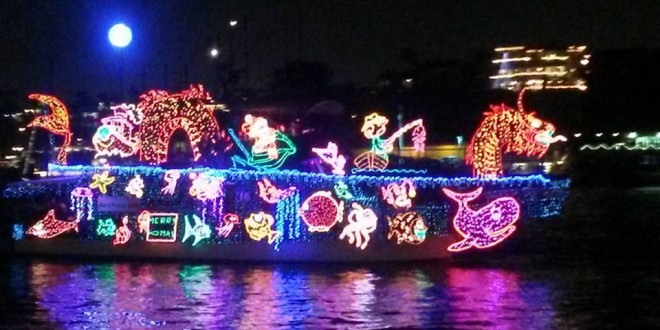 Boat Parade 2013, by Mike Glenn