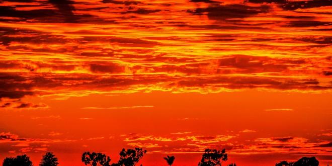 Fiery Sunsets by Sean Olsen