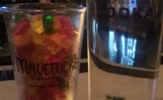 Maverick's Vodka-infused Gummybears, photo by Mike Glenn