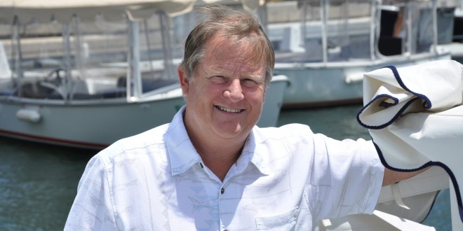 Photo of boat inventor and council candidate, Duffy Duffield