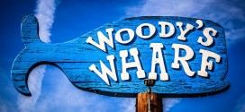 Woody's Wharf Sign Newport Beach Picture
