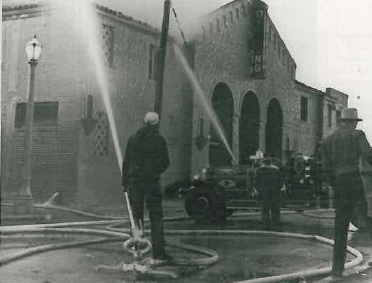 Rendezvous Ballroom Burnt