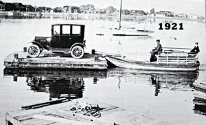 Newport Beach Balboa Island Ferry 1921