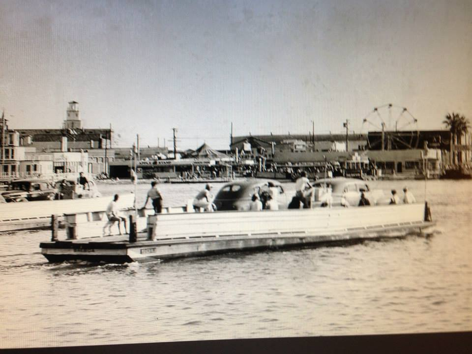 tbt Balboa Ferry Love this great shot of the Fun Zone and the Ferry taken in the 1940's. (Courtesy OCHS)