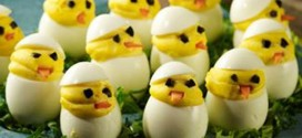 Deviled Egg Easter Peeps