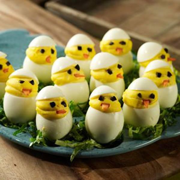 Deviled Egg Easter Peeps