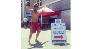 Lifeguard blood donations - Photo by Maggie Harding
