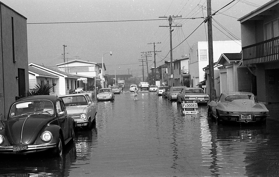 river avenue flooding 1970s