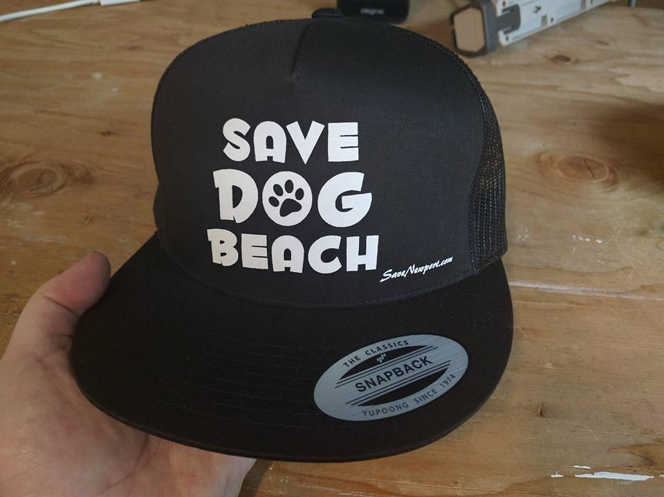 Save Dog Beach Hat