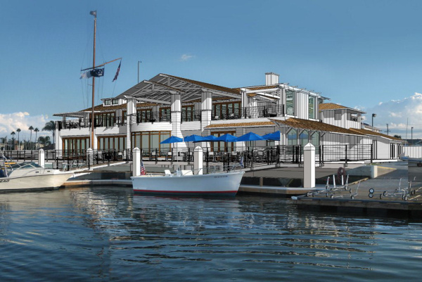New Newport Harbor Yacht Clubhouse
