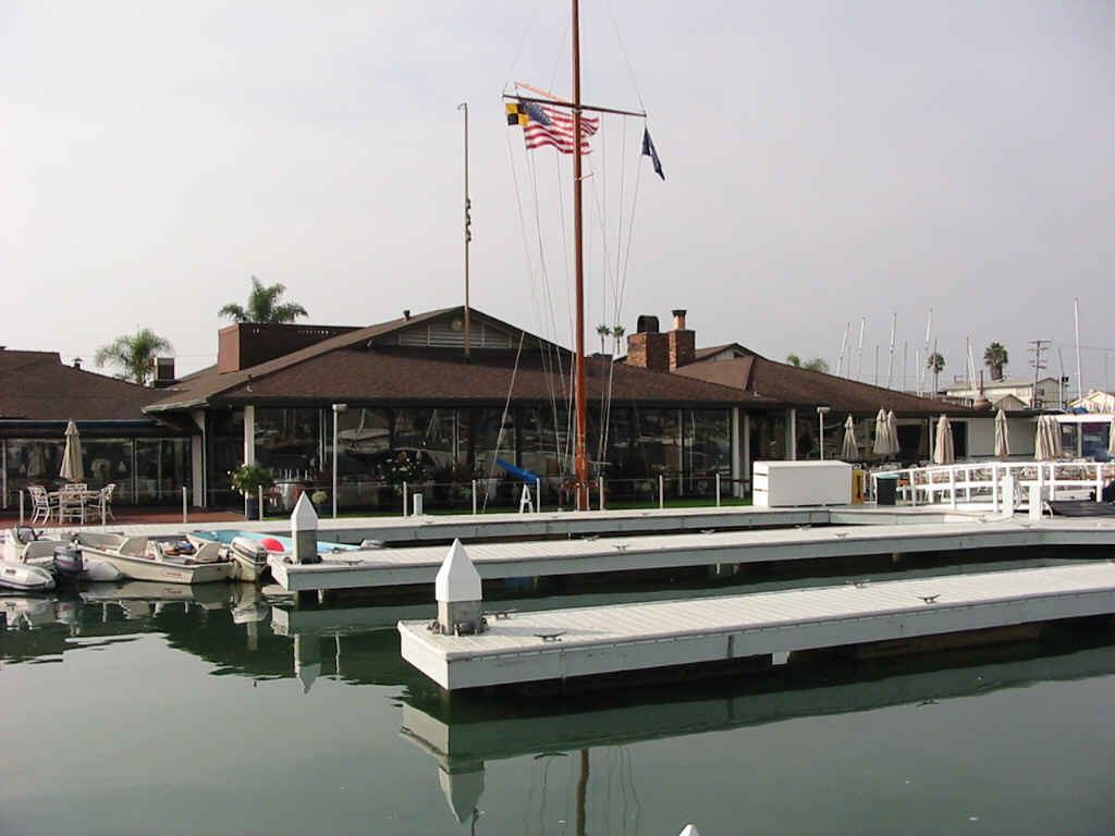Old Newport Harbor Yacht Clubhouse