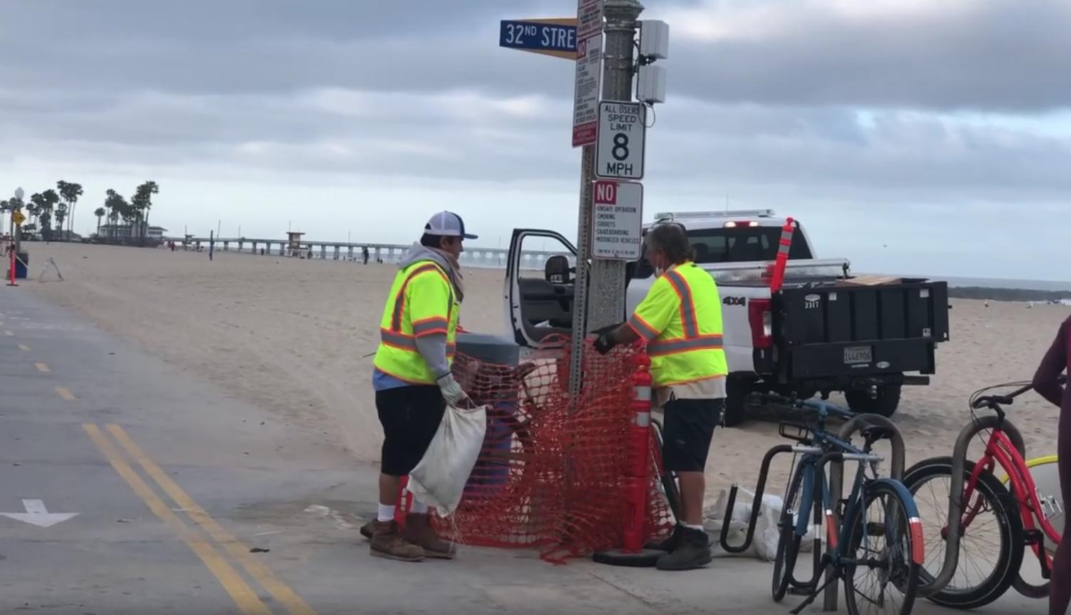 Boardwalks reopen by Pete Wesner