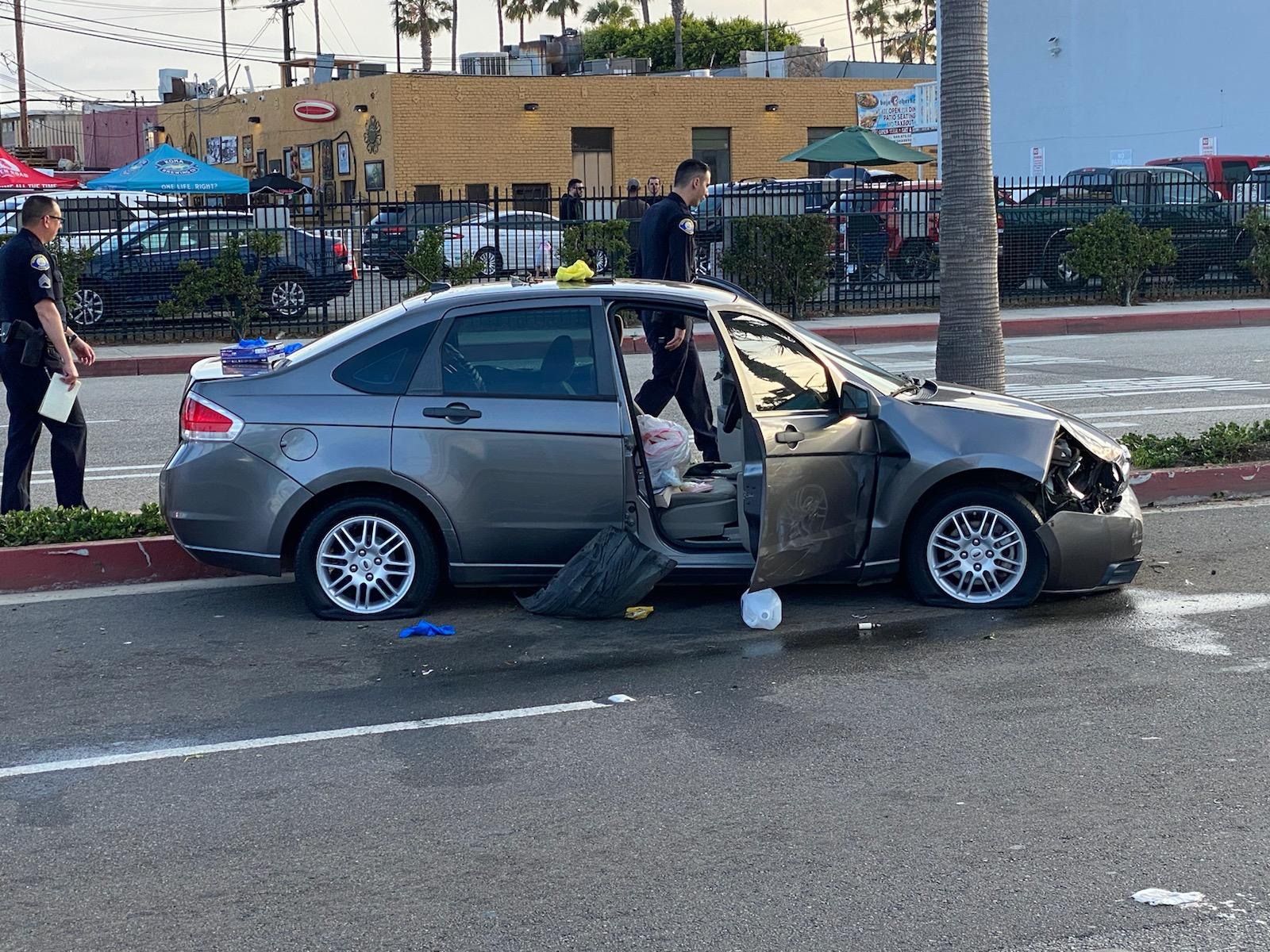 Car Chase End by Shawn Dewane
